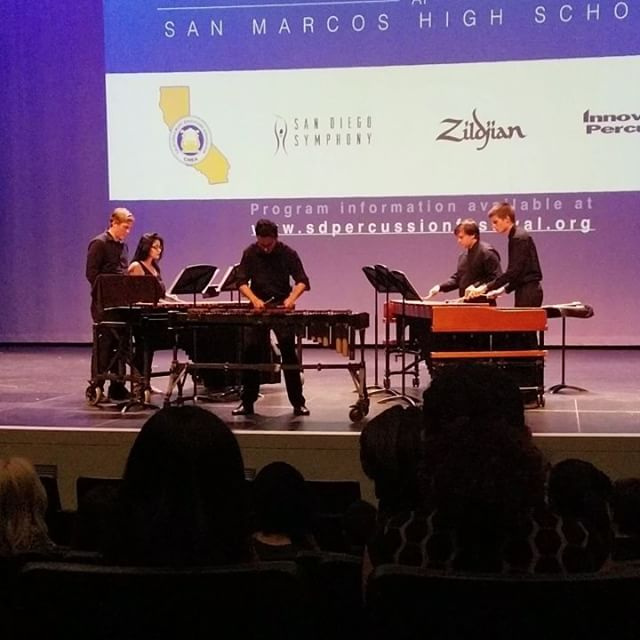 SDSU at the SD Percussion Festival