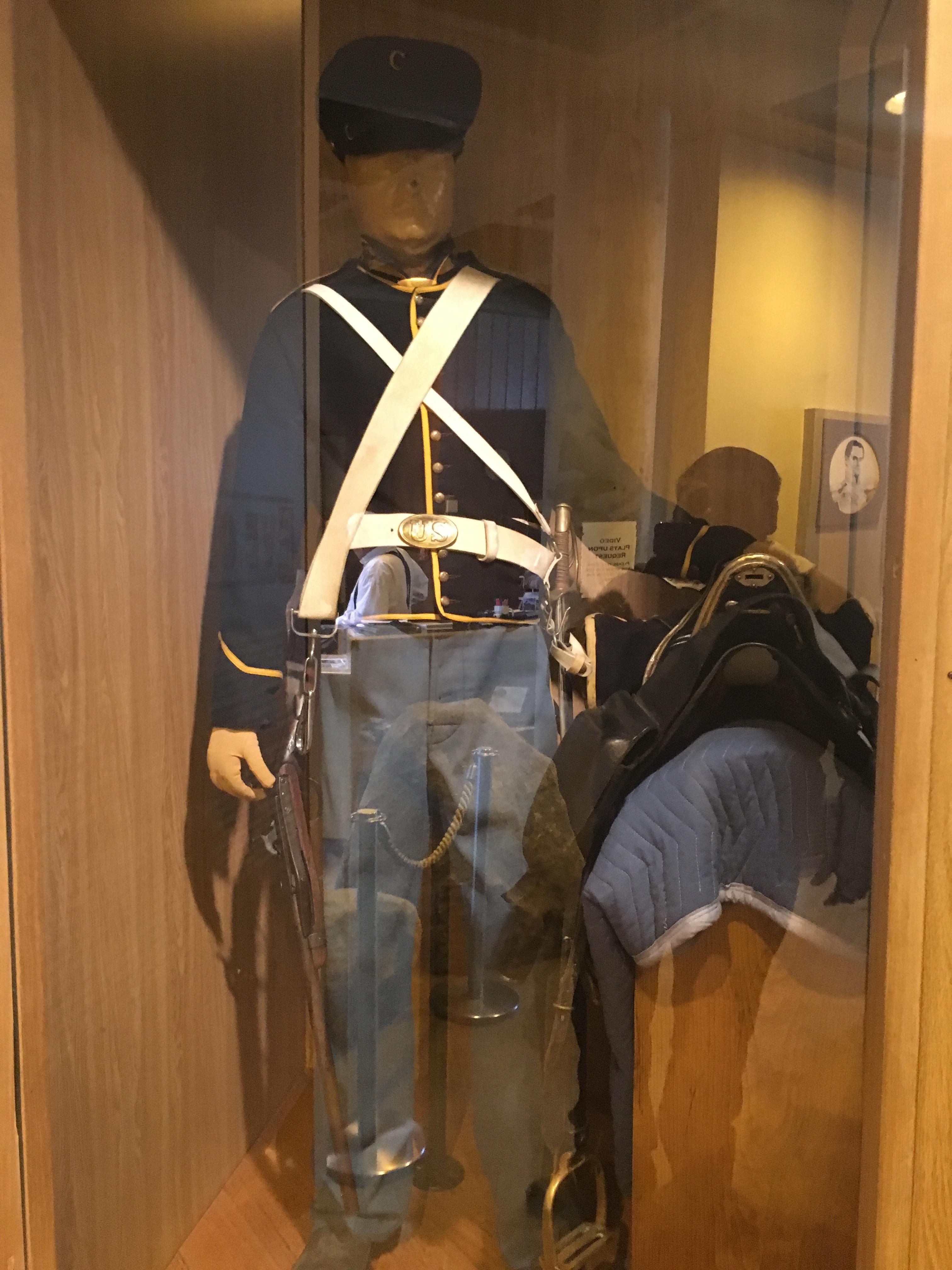 American Dragoon uniform