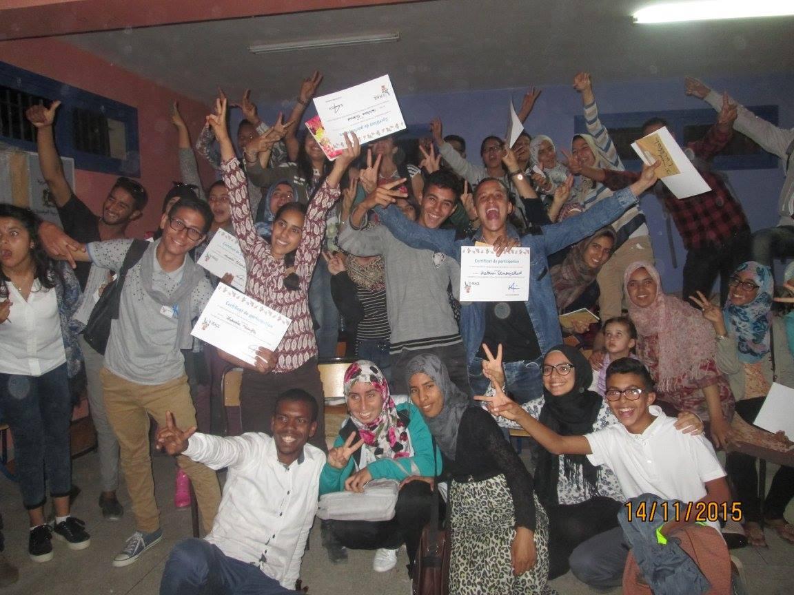 YO PEACE Caravan, Marrakesh