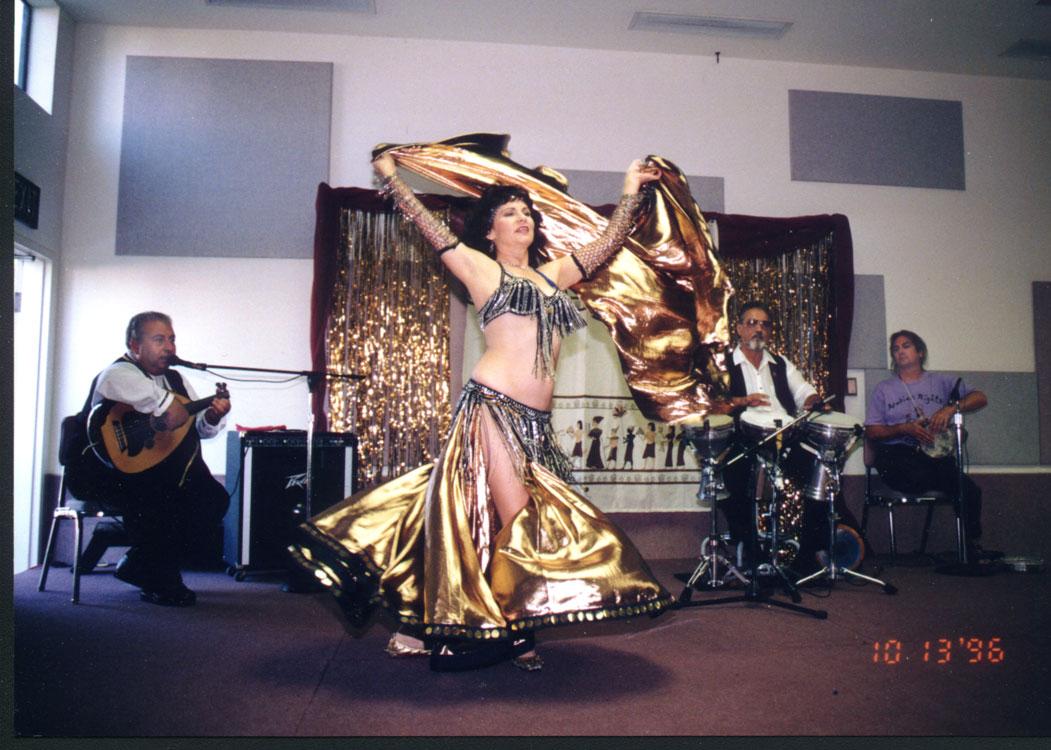 Bedouin Bazaar Band (John Bilezikjian, Dave Dhillon, myself) 1995, Bedouin Bazaar, Al Bahr Shrine Center