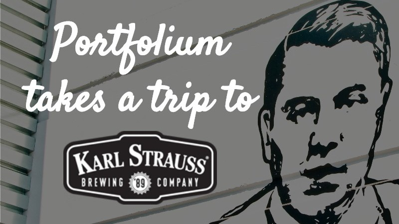 Portfolium takes a trip to Karl Strauss