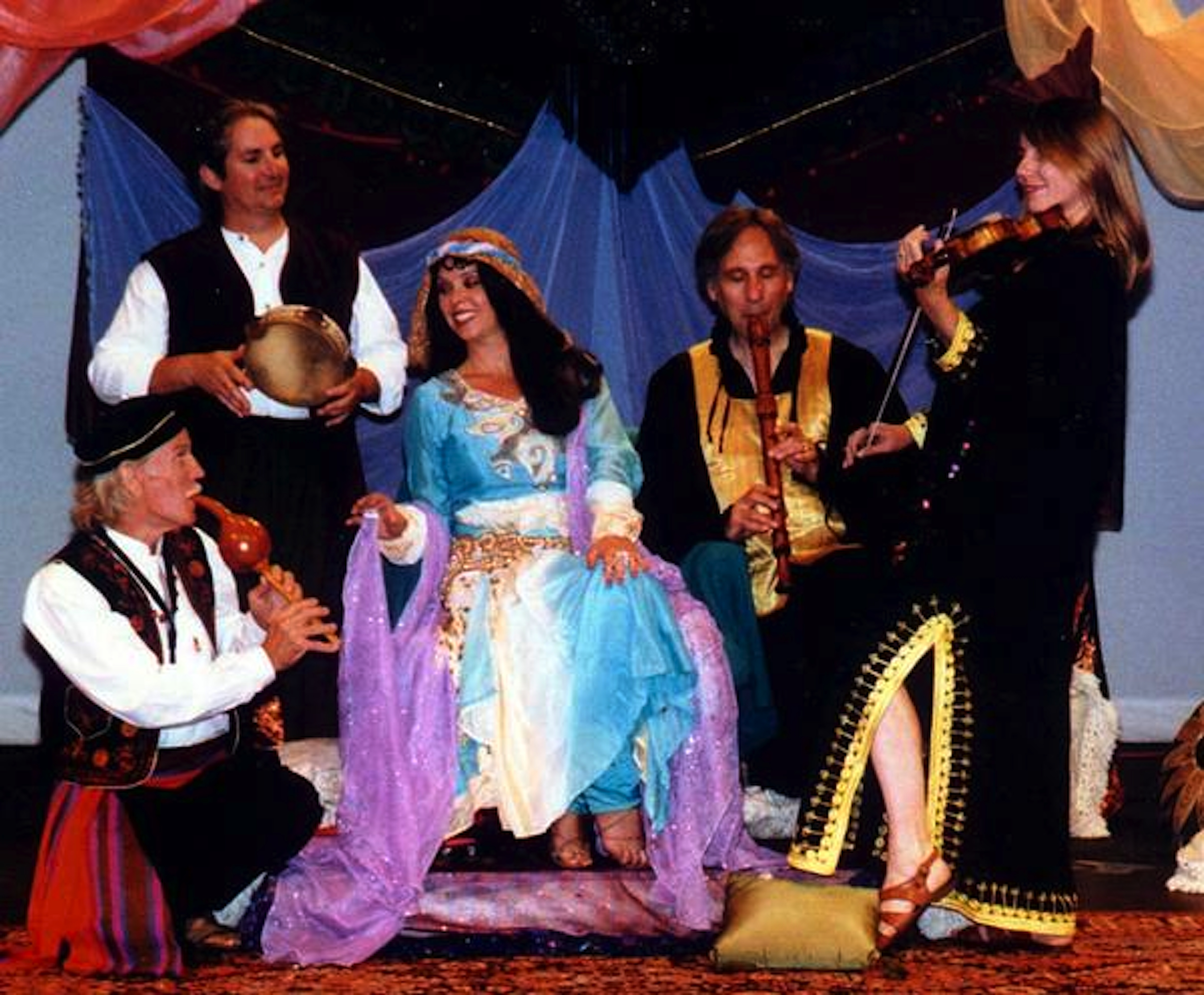 1998, Titanya Dahlin's Scheherazade: the Veil Behind the Blade, Avo theater Vista- (Titanya and Palmyra group)
