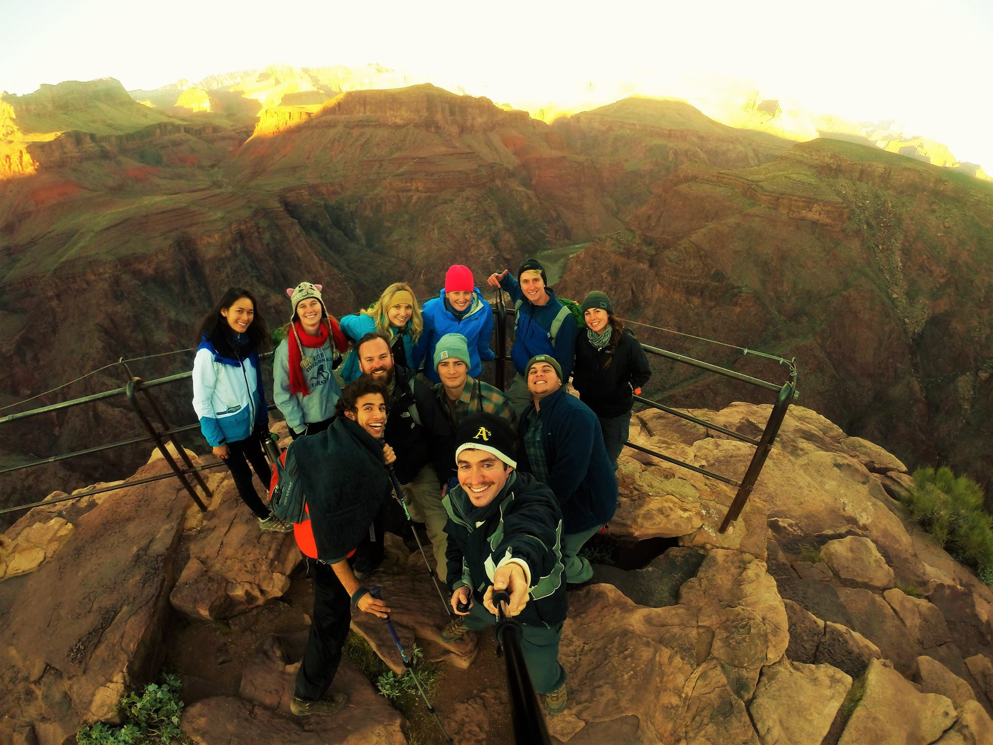 Grand Canyon backpacking trip with SDSU's Aztec Adventures