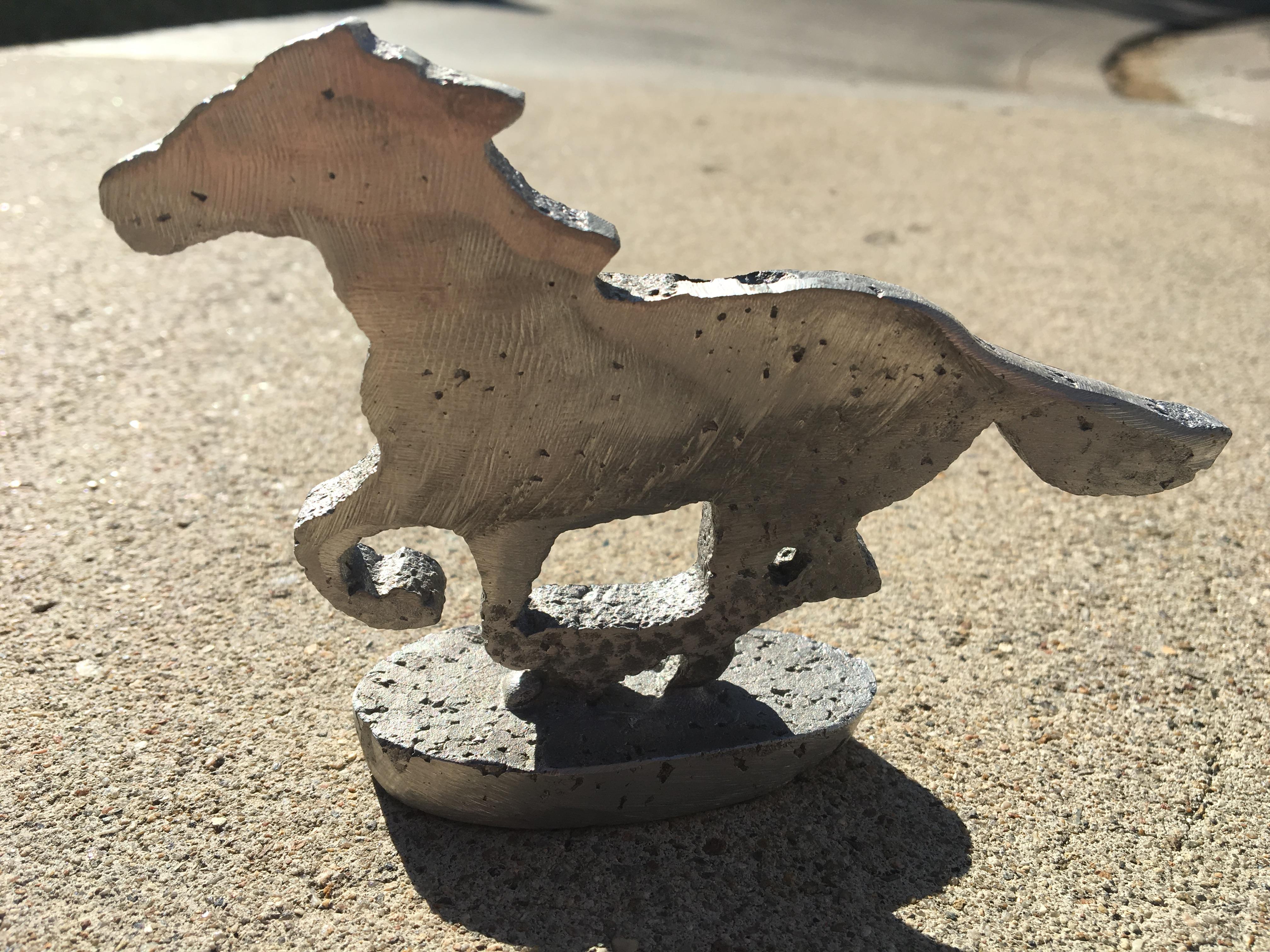 Lost foam casitng of a Bronco