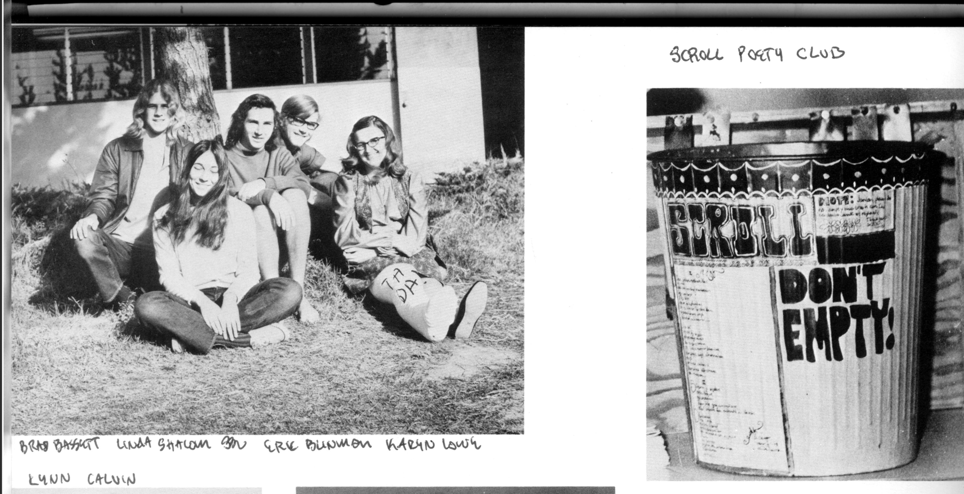 1971 The Scroll Club