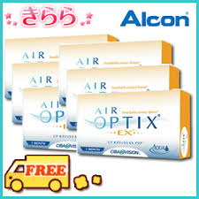 This is a Alcon Japanese advertisement