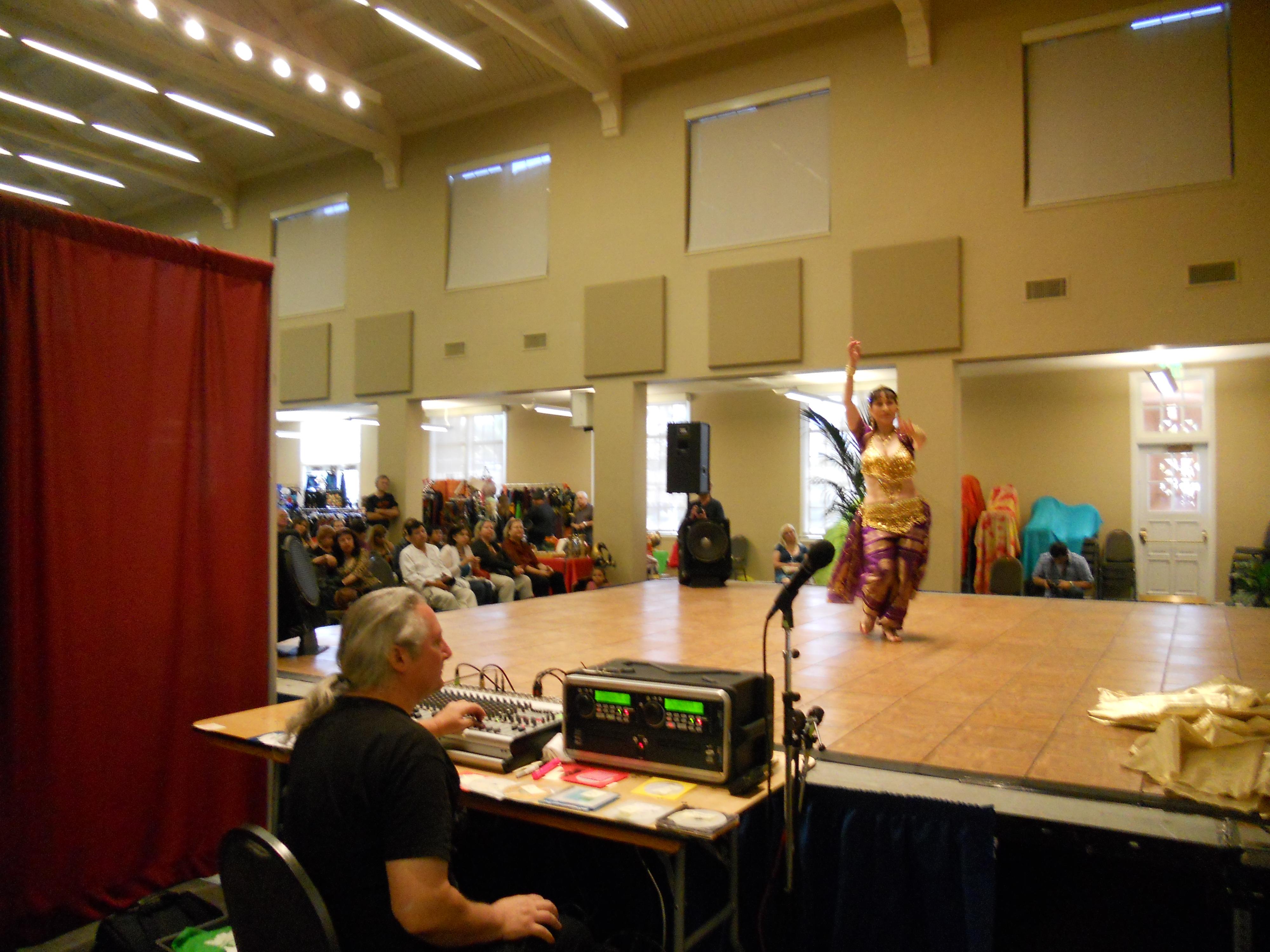 SAMEDA Faire audio desk, 2008 McMillan Center