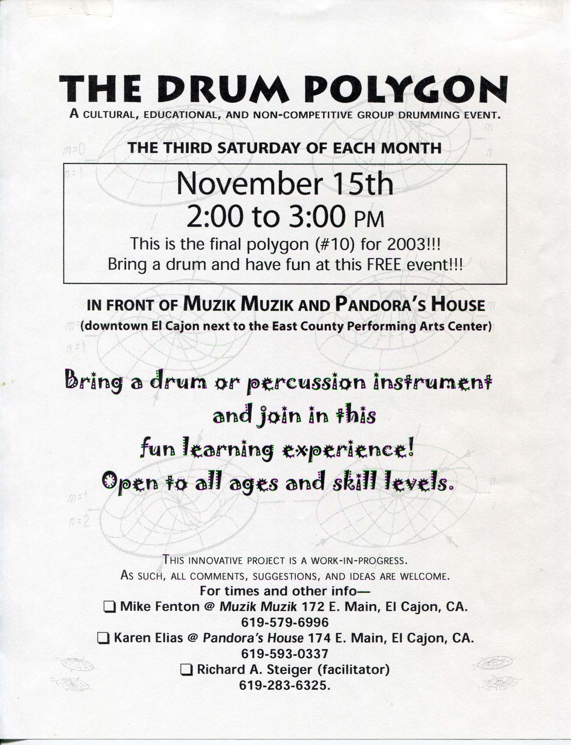 2003 The Drum Polygon
