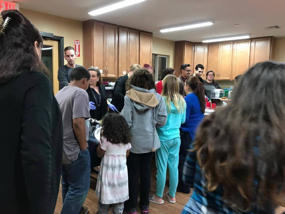 Operation Hope 2016 is a success; feeding over 20 families in Vista, CA.