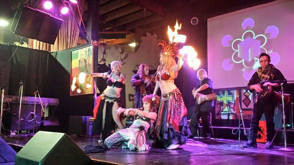 New Year's Show at World Beat Center 2015–16, Chet Harrison Group