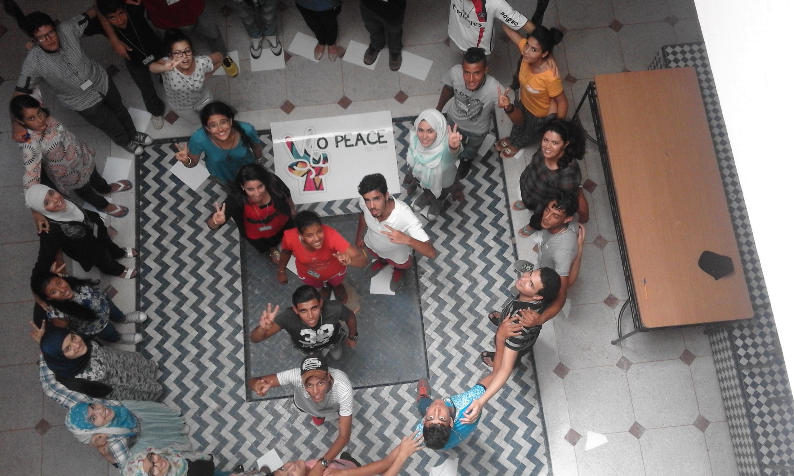 Yo Peace Camp in Morocco,Safi