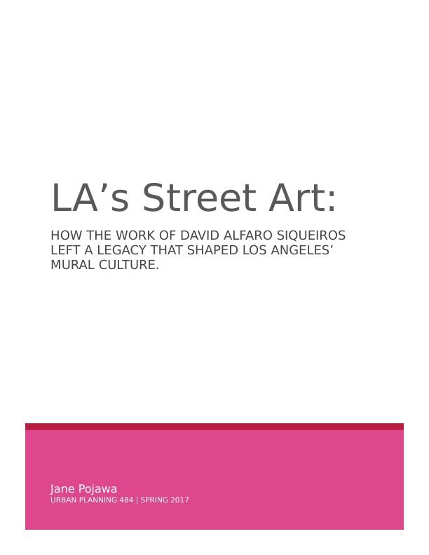 LA's Street Art