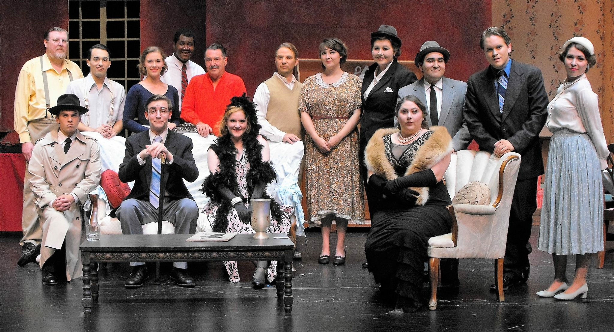 Entire Cast for 'You Can't Take It With You' performed by Tarleton State University
