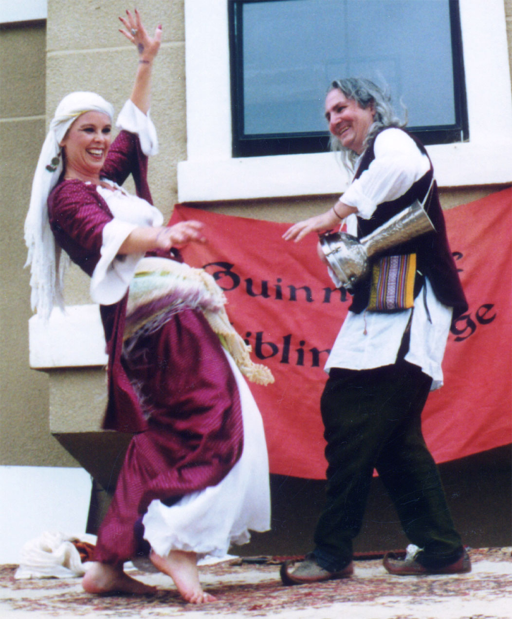 2001Del Mar Seaside Rennaisance and Fantasy Faire, Del Mar Fairgrouds (drumming for Titanya)