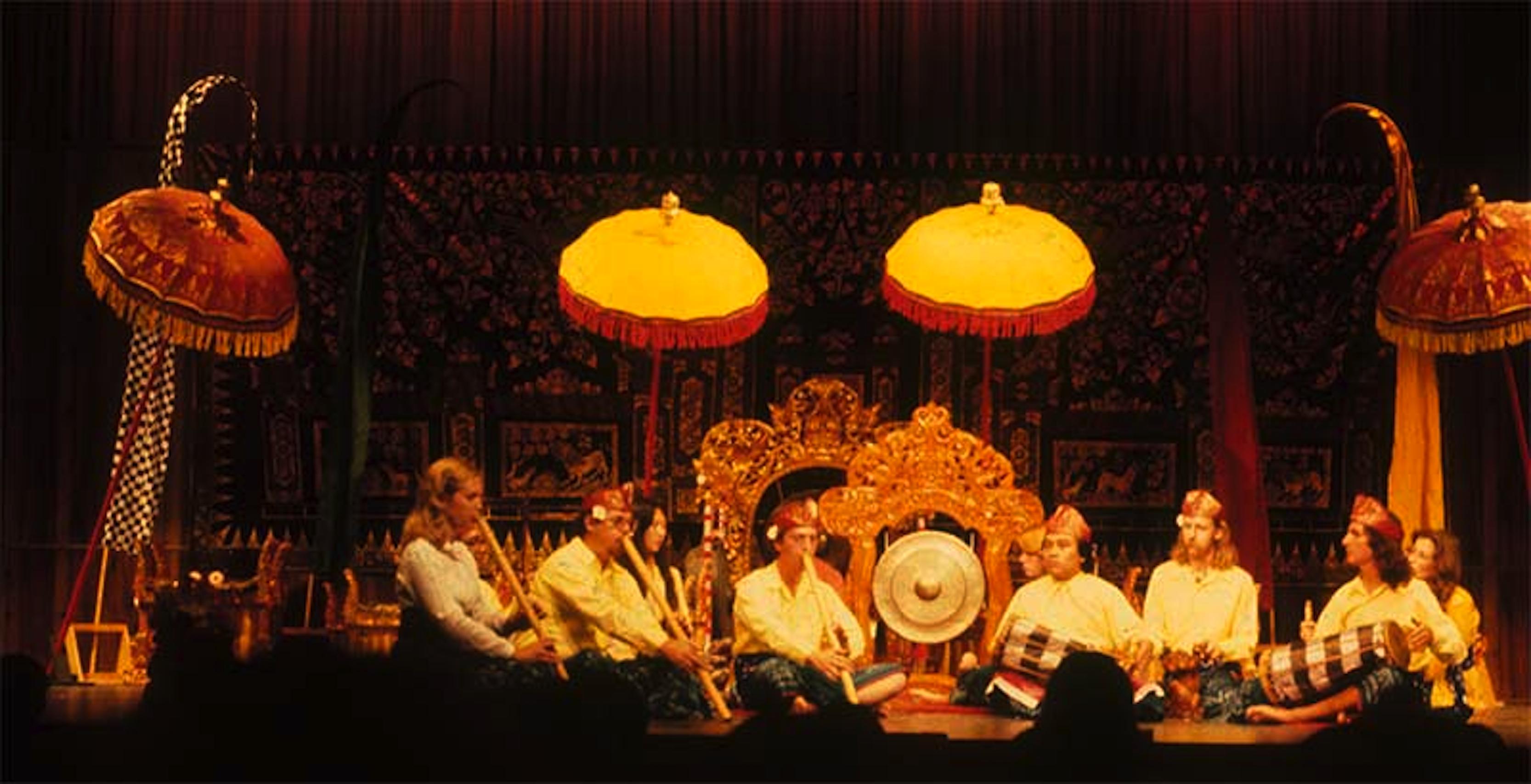 Gamelan Gambuh, 1981 (playing kendang w/ Pak Sinti, dir.)