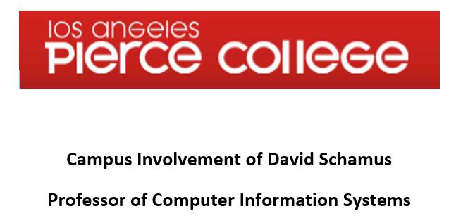 Campus Involvement of David Schamus