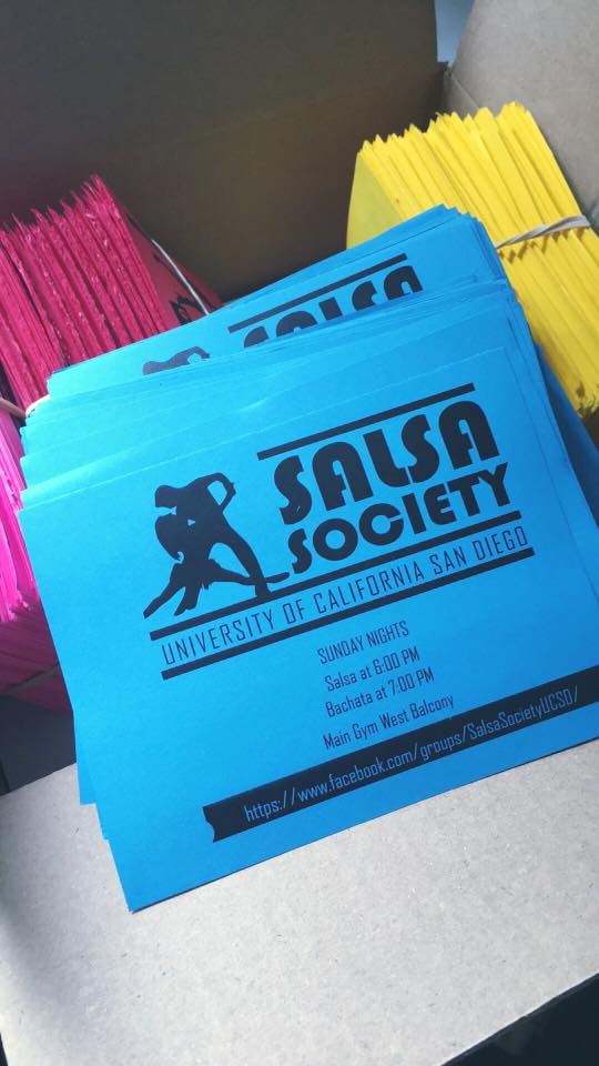 Salsa Society Flyers