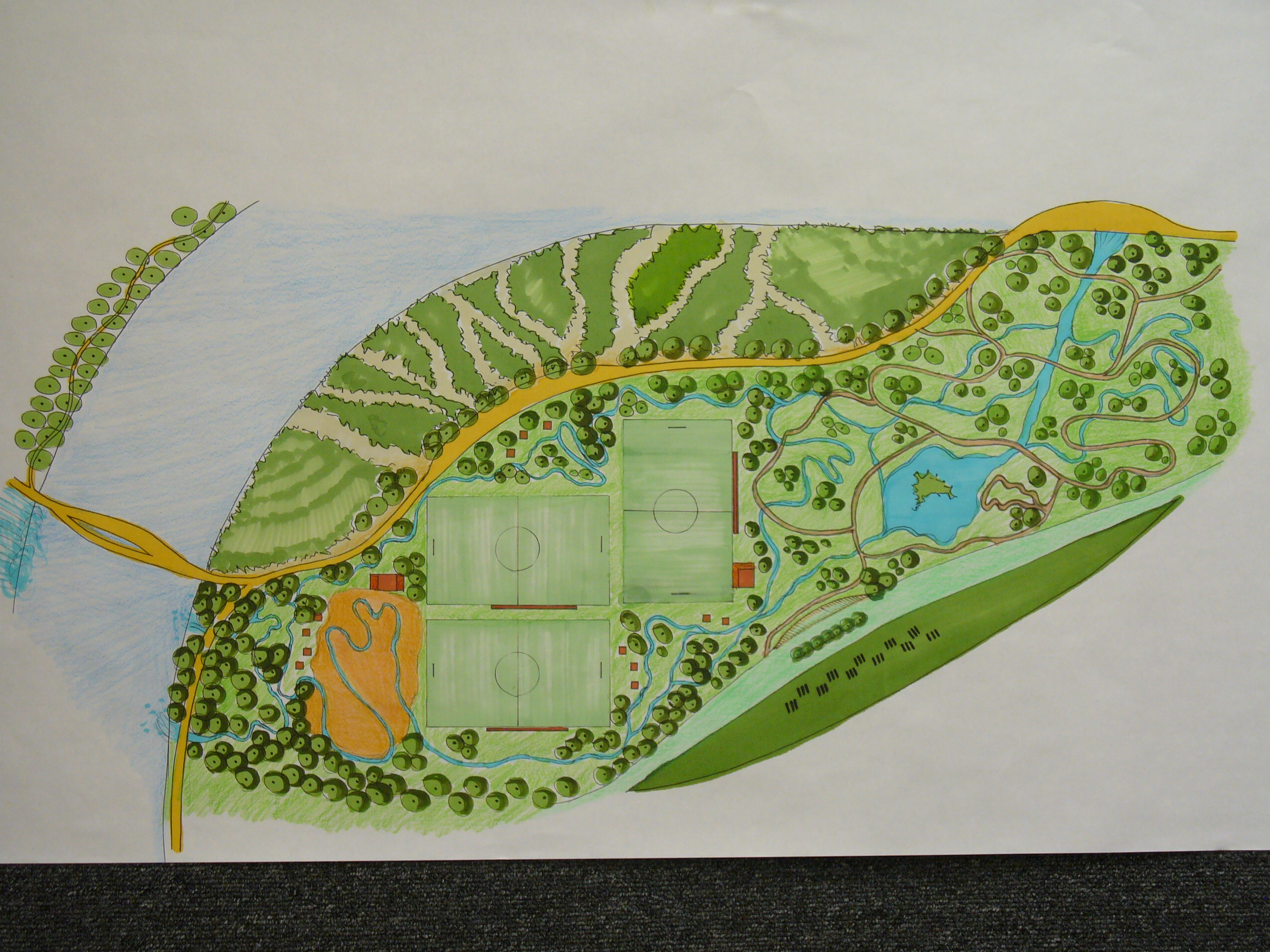 Concept and Planning of Park for Mixed-Use Community