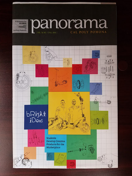 We made the cover of Panorama!